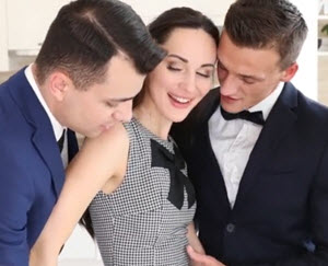 Komšija i muž, karanje u troje