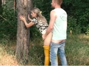 Jebačina u šumi