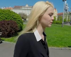 Poljski porno, mlada Poljakinja