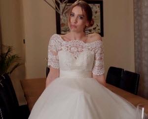 Jebanje nevjeste u vjenčanici